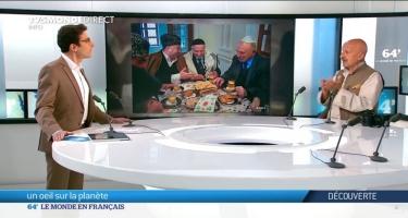 Reza Deqati Fransa kanalında Şuşanın tarixindən, erməni vəhşiliklərindən danışıb (FOTO/VİDEO)