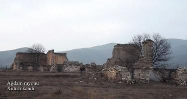 Ağdam rayonunun Xıdırlı kəndi (FOTO/VİDEO)