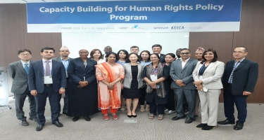 Ombudsmanın əməkdaşı Cənubi Koreyada insan hüquqlarına dair beynəlxalq təlim proqramında iştirak edib (FOTO)