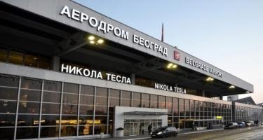 Belqrad Beynəlxalq Aeroportu təxliyə edilib - Bomba axtarılır