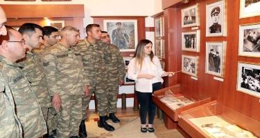 Həzi Aslanovun anadan olmasının 111- ci ildönümü münasibəti ilə ekskursiya keçirilib (FOTO)