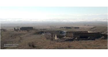 Zəngilan rayonunun Babaylı kəndi (FOTO/VİDEO)