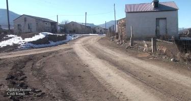 Ağdam rayonunun Cinli kəndi (FOTO/VİDEO)