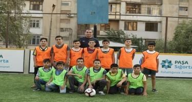 """PAŞA Sığorta AFFA ilə birgə """"Məhəllə Futbolu"""" layihəsinə start verir (FOTO)"""