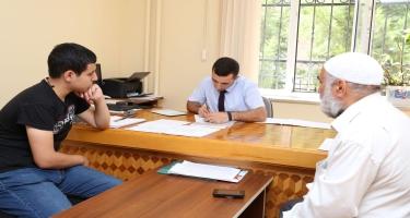 Azərbaycan İlahiyyat İnstitutuna 2019-2020-ci tədris ili üzrə qəbul planı 100 faiz yerinə yetirilib (FOTO)