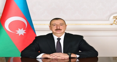 Prezident İlham Əliyev DSX-nın hərbi qulluqçularını və mülki işçilərini təltif edib - SİYAHI