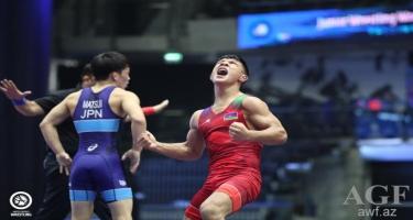 Zaur Əliyev dünya çempionatında gümüş medal qazanıb