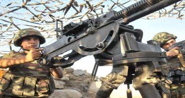 Ermənistan silahlı qüvvələri atəşkəsi 21 dəfə pozub