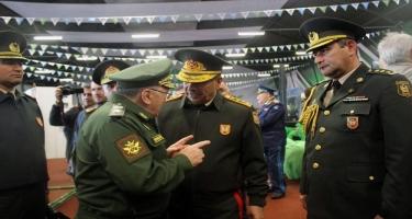 """Müdafiə naziri """"Beynəlxalq Ordu Oyunları - 2019"""" yarışlarının bağlanış mərasimində iştirak edib (FOTO)"""