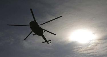 Yunanıstanda helikopter dənizə düşdü - Ölənlər arasında qadın və uşaq da var