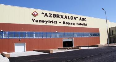 Yunəyrici-Boyaq Fabriki son illərin ən irihəcmli iqtisadi layihələrindən biridir (FOTO)