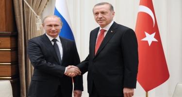 Moskvada Putin və Ərdoğan arasında danışıqlar keçiriləcək
