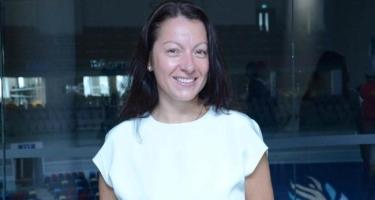 """Mariana Vasileva Beynəlxalq Gimnastika Federasiyası (FIG) tərəfindən """"əməkdar məşqçi"""" diplomu ilə təltif olunub"""
