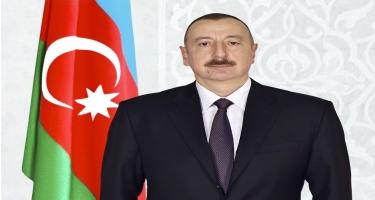 """Prezident İlham Əliyev Allahşükür Paşazadəni """"Heydər Əliyev"""" ordeni ilə təltif edib"""