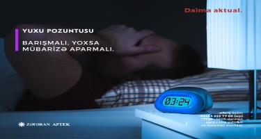 Yuxu pozuntusu - Barışmalı, yoxsa mübarizə aparmalı? (FOTO)