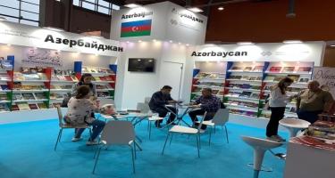 Azərbaycan Moskva Beynəlxalq Kitab Sərgi-Yarmarkasında təmsil olunur (FOTO)