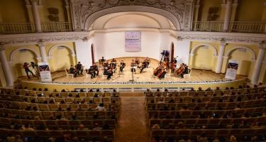 TÜRKSOY-un Gənclər Kamera Orkestri Bakıda çıxış edib (FOTO)
