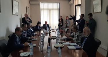 BMTM ilə Strateji və Beynəlxalq Araşdırmalar üzrə Gürcüstan Fondu arasında anlaşma memorandumu imzalanıb (FOTO)