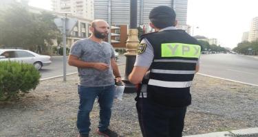 BŞBPİ: Piyadalara qarşı profilaktik tədbirləri yol polisinin piyada naryadları davam etdirir