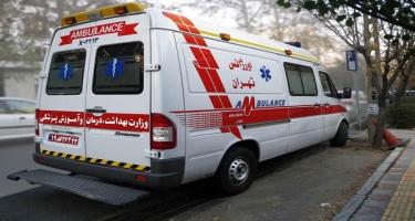 İranda avtomobil qəzası: 3 ölü, 6 yaralı