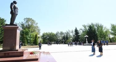 Birinci vitse-prezident Mehriban Əliyeva Şamaxıda səfərdə olub (FOTO)