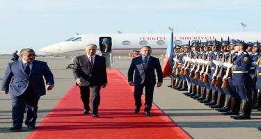 Türkiyə Respublikasının Vitse-prezidenti Azərbaycana rəsmi səfərə gəlib