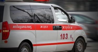 Qazaxıstanda avtobusla qatar toqquşub, ölən və yaralananlar var
