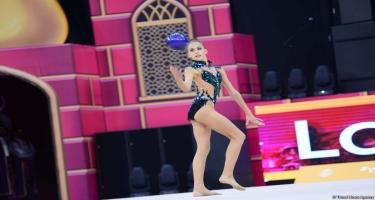 Bakıda bədii gimnastika üzrə 37-ci dünya çempionatına start verilib (FOTO)