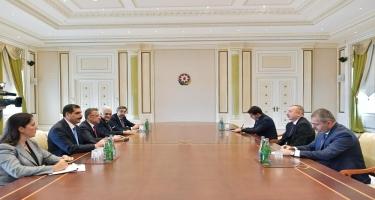 Prezident İlham Əliyev Türkiyənin Vitse-prezidentini qəbul edib (YENİLƏNİB) (FOTO)