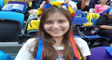 Ukraynalı tamaşaçı Milli Gimnastika Arenası barədə: Mən bu cür zal görməmişdim