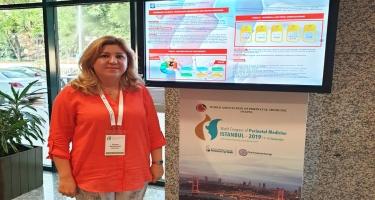 Mərkəzi Gömrük Hospitalının mama-ginekoloqu İstanbulda beynəlxalq konfransda çıxış edib