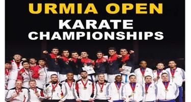Azərbaycan karateçiləri İranın Urmiyə şəhərində ənənəvi beynəlxalq turnirə qatılıblar