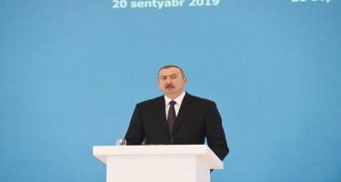 Prezident İlham Əliyev: Neft, qaz tükənən sərvətlərdir, intellektual potensial isə dəyişməz sərvətdir