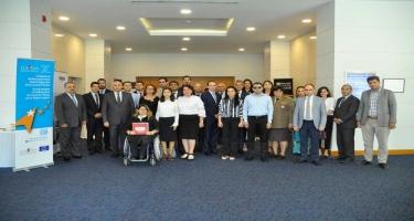 Ombudsmanın nümayəndələri həssas qrupların fəlakət risklərinin azaldılmasına həsr edilmiş seminarda iştirak ediblər