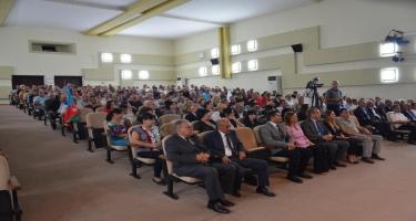 """İncəsənət ustaları """"Neft Daşları""""nda konsert proqramı ilə çıxış ediblər(FOTO)"""