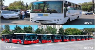 39 nömrəli müntəzəm marşrut xəttinə yeni avtobuslar verilib (FOTO)