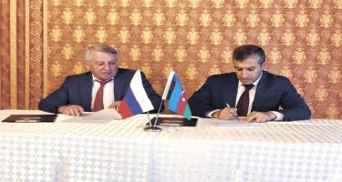 Azərbaycan və Rusiya gömrük orqanları arasında protokol imzalanıb (FOTO)