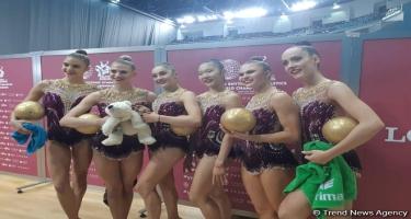 Alman gimnast: Milli Gimnastika Arenası xoş təsir bağışlayır