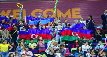 Bakıda keçirilən bədii gimnastika üzrə dünya çempionatından ən maraqlı anlar (FOTO)