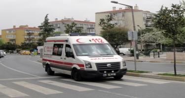 Türkiyədə avtomobil qəzasında 10-dan çox insan yaralanıb
