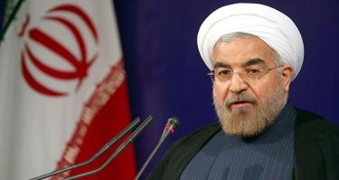 Ruhani: İran bütün qonşulara dostluq əlini uzadır