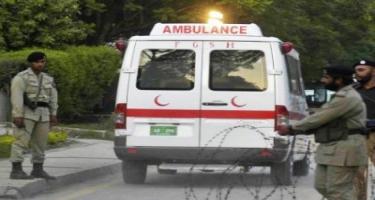 Pakistanda avtobus qəzaya uğrayıb: 26 ölü, 12 yaralı