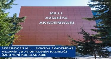 Azərbaycan Milli Aviasiya Akademiyası mexanik və avioniklərin hazırlığı üzrə yeni kurslar açır