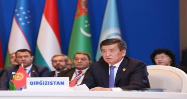 Qırğızıstan Prezidenti: Azərbaycanın sədrliyi ilə iqtisadiyyatın, ticarətin, investisiyaların və digər sahələrin inkişafı üzrə əməkdaşlıq daha da güclənəcək