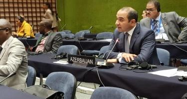 Milli Məclisin deputatı beynəlxalq tədbirdə Ermənistanın parlament sədrinin səsləndirdiyi fikirlərə cavab verib
