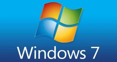 """""""Microsoft"""" """"Windows 7"""" əməliyyat sisteminin dəstəklənməsini dayandırır"""