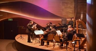 """Beynəlxalq Muğam Mərkəzində """"Solistlər ansamblı""""nın  konserti keçirilib (FOTO)"""