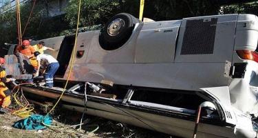 Kongoda 24 nəfər avtobusun qəzaya uğraması nəticəsində həyatını itirib