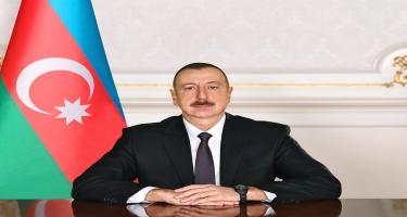 Azərbaycan Prezidenti İlham Əliyev MDBMİ-ni yubiley münasibətilə təbrik edib