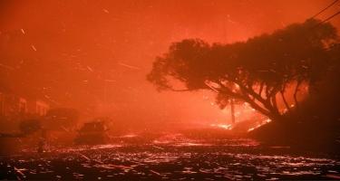Kaliforniyada yanğınlar səbəbindən 50 mindən çox insan təxliyə olunur